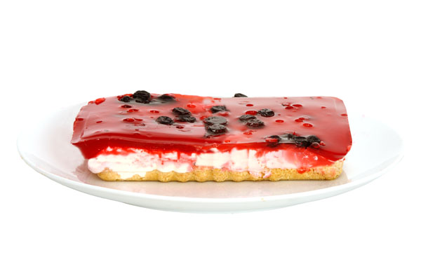Fruits of the Forrest Cheesecake - Food