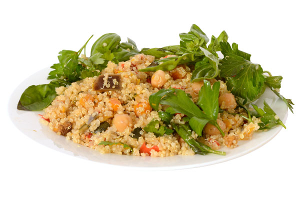 Quinoa Roast Vegetable Salad - Food